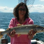 Lake Trout Fishing in MT